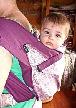 porte-bébé dos facile
