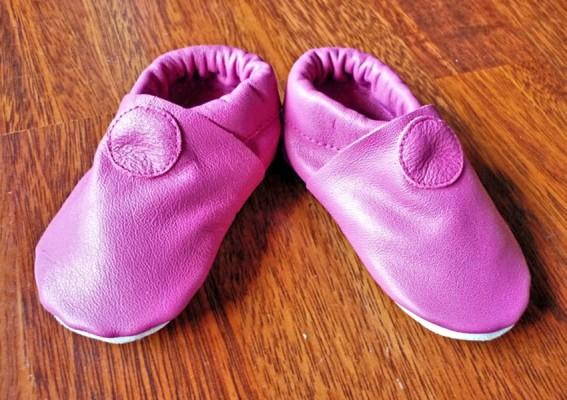 chaussons bébé souples