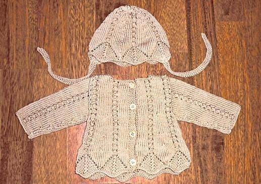 tricots bébé bio