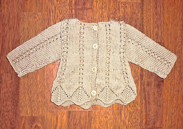 brassière tricot naissance