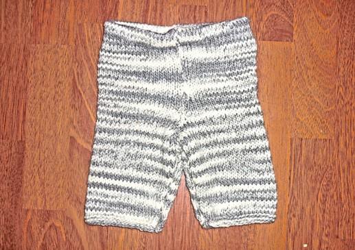 pantalon tricot bébé