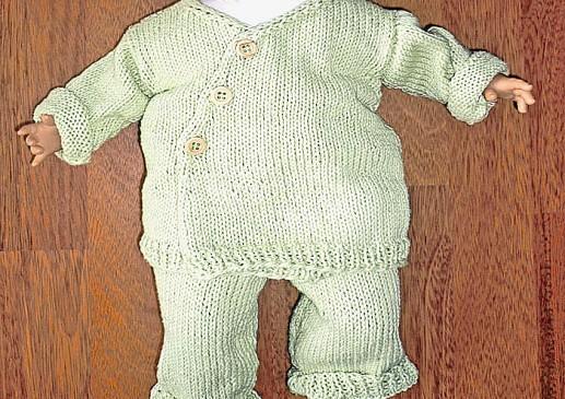 tricot bébé naissance