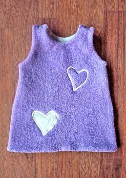 Robe laine enfant