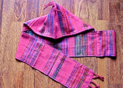 capuche laine enfant