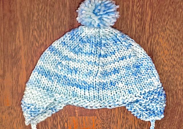 bonnet péruvien tricoté main