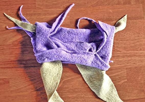 Chapeau laine enfant