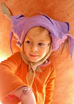 chapeau enfant amusant