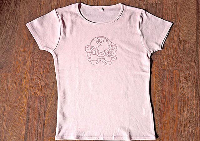 Tee-shirt bio fille