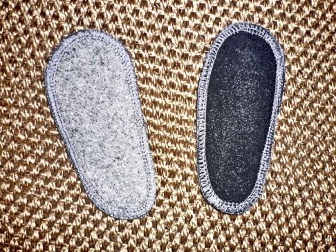 Semelles chaussons souples enfant