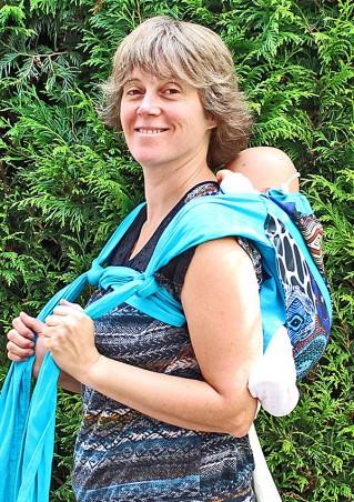 Porte-bébé dorsal à poche