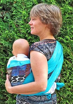Porte bébé hanche facile