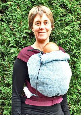 Porte-bébé chinois coton bio