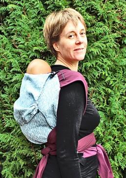 porte-bébé portage dos