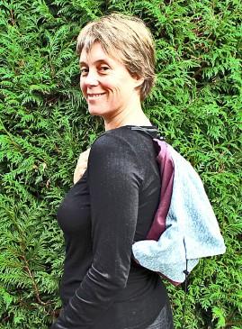 Porte-bébé ombu avec sac de rangement