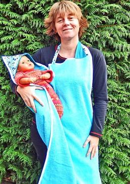 Serviette tablier bébé
