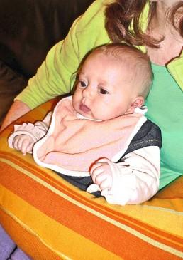 Bavoir naissance bio