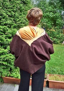 Veste portage laine