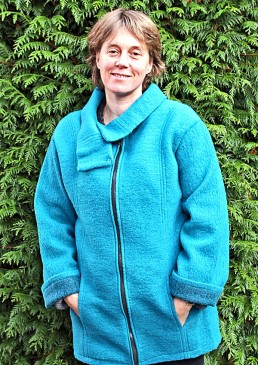Manteau de portage laine