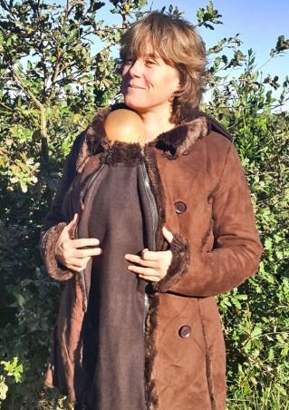 Veste doublée portage bébé