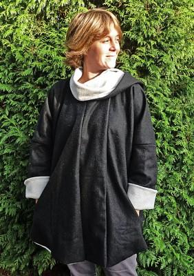 Manteau femme ronde ou enceinte